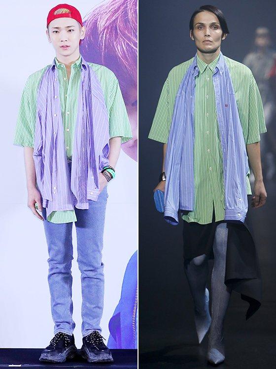 /사진=김창현 기자, 발렌시아가 2018 S/S  컬렉션
