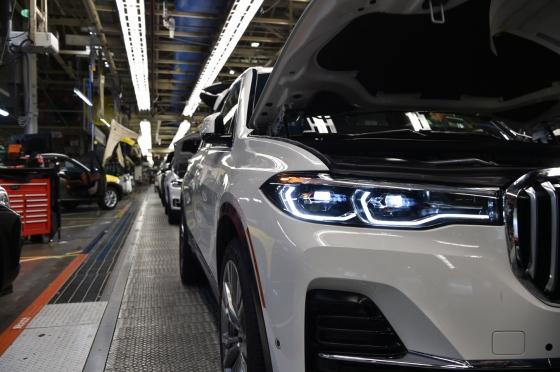 BMW X7 생산라인/사진제공=BMW코리아