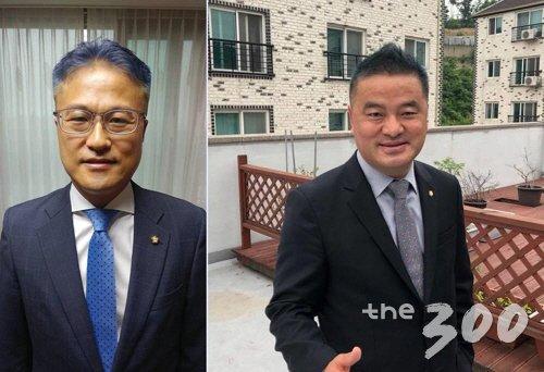 김정우 민주당 의원, 임종성 민주당 의원(왼쪽부터)/사진=각 의원 페이스북 캡처