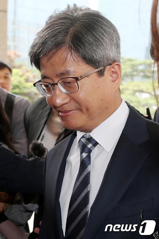 [사진]김명수 대법원장, '재판거래' 후속조치는?
