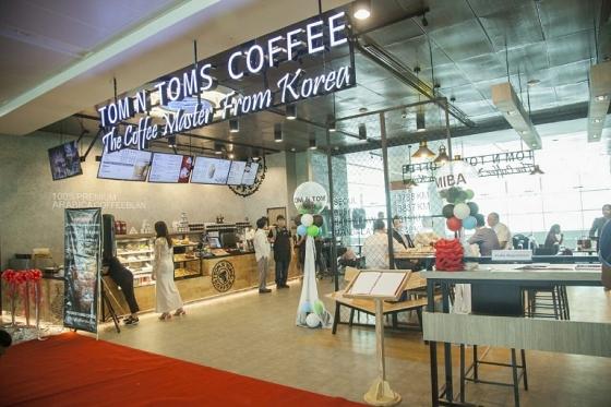 탐앤탐스, 미얀마 1호점 '양곤 공항점' 오픈