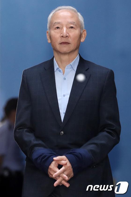 [사진]'국정원 특활비' 의혹 남재준 전 국정원장, 징역 3년