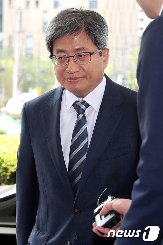 김명수 대법원장. 2018.6.15/뉴스1 © News1 민경석 기자