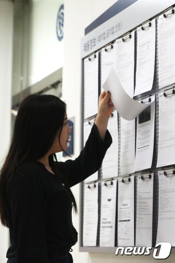 [사진]'청년실업률 역대 최악'