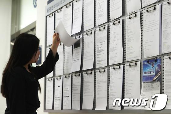 [사진]청년실업률 10.5% 역대 최고수준