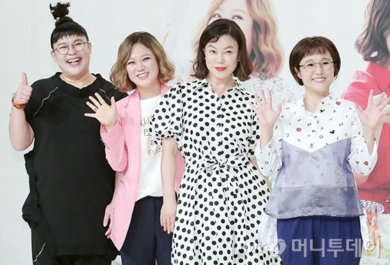 방송인 이영자, 김숙, 최화정, 송은이/사진=김창현 기자