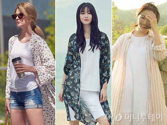 배우 서예지(가운데), 전혜진(오른쪽) /사진제공=라푸마, 올리비아로렌, 에피그램
