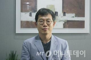 안양 본사에서 만난 정성우 링크제니시스 대표 /사진=김진수 에디터