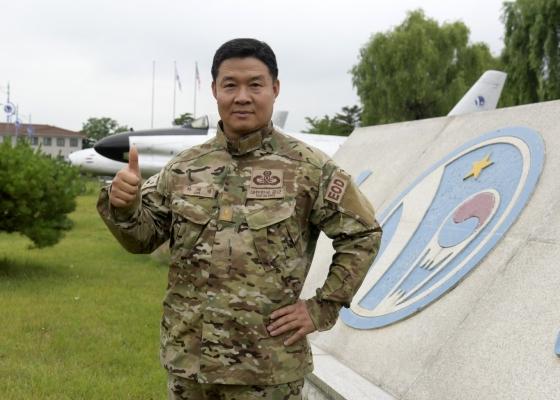 공군제10전투비행단 폭발물처리반장 차재명 준위