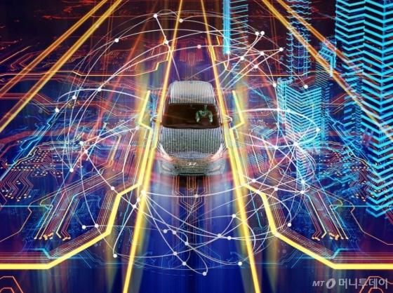 현대차 커넥티드카 이미지/사진=현대차