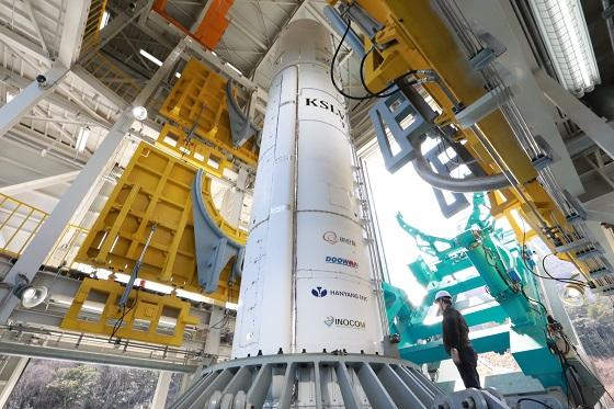한국형 시험발사체 QM/자료사진=한국항공우주연구원