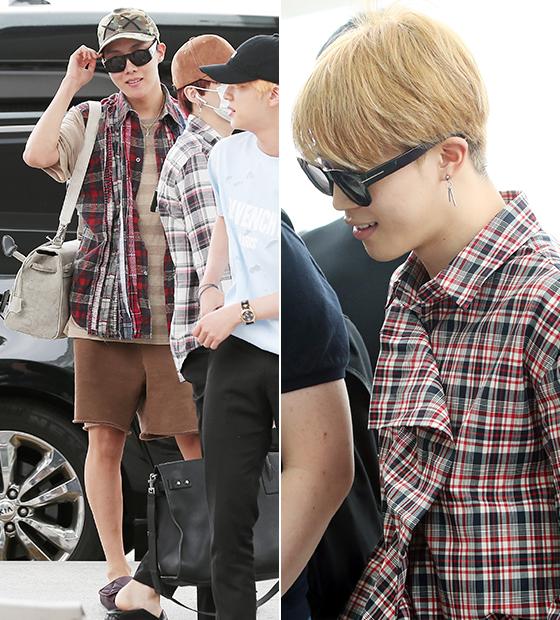 그룹 방탄소년단 제이홉, 지민/사진=김창현 기자, 뉴스1