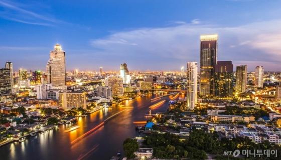 태국 방콕 야경. /사진제공=하나투어