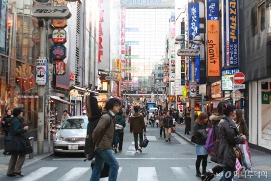 일본 도쿄 신주쿠. /사진제공=하나투어