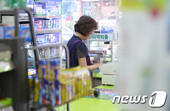 서울 시내의 한 편의점. 사진은 기사 내용과 직접 연관이 없음. / 사진=뉴스1