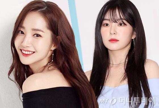 배우 박민영, 그룹 레드벨벳 아이린/사진=박민영 인스타그램, 머니투데이 DB