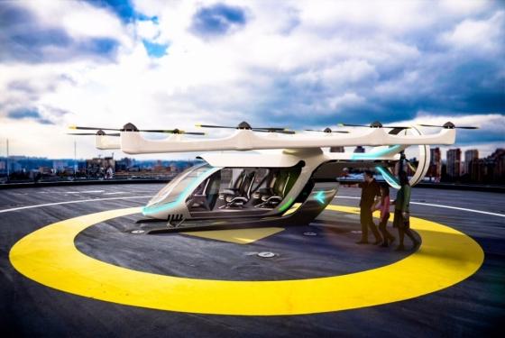 우버는 2020년 플라잉 택시 서비스 '우버에어'를 시범 운영키로 했다. /사진제공=우버.