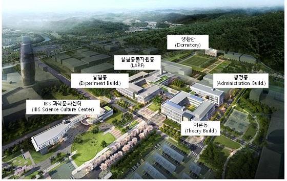 대전 엑스포 과학공원에 새롭게 조성한 IBS 본원/사진=IBS