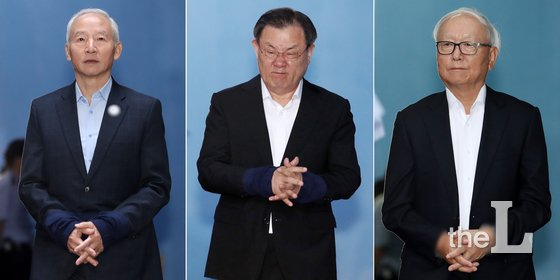 남재준(왼쪽부터), 이병기, 이병호 전 국가정보원장 / 사진제공=뉴스1