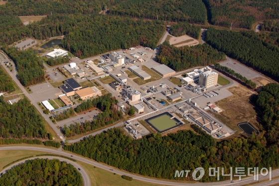 엠팩 버지니아주 피터스버그(Petersburg) 생산시설 전경/사진제공=SK
