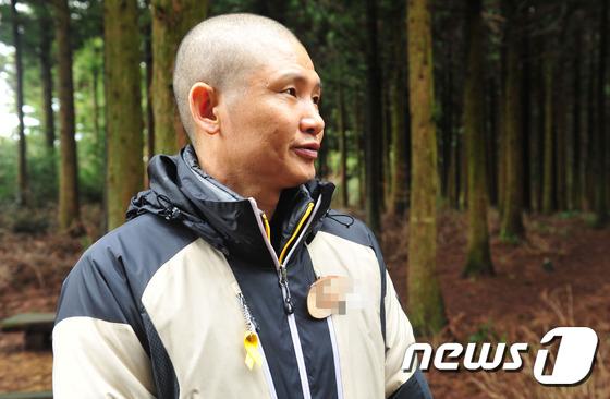 '파란 바지의 의인' 김동수씨(54). (뉴스1 DB) © News1