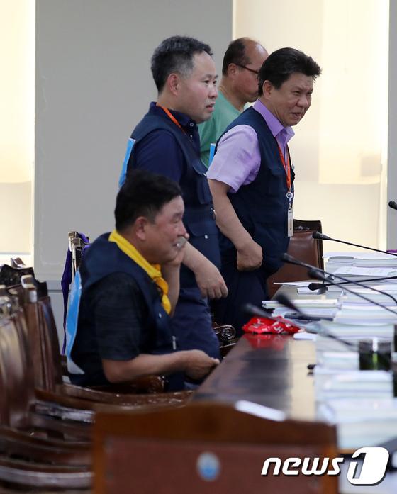 [사진]속개된 최저임금위원회, 사용자위원은 여전히 불참