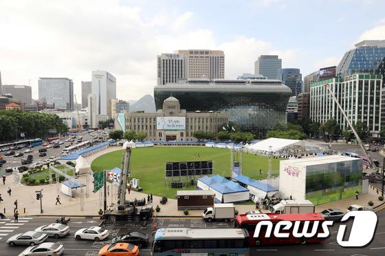 [사진]'하루 앞둔 퀴어문화축제'