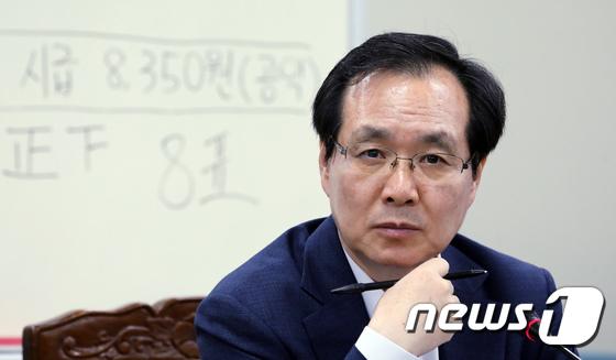 [사진]최저임금 10%대 인상 '노-사 불만족?'