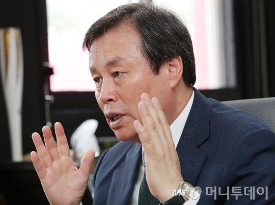 도종환 문화체육관광부 장관./사진=김창현 기자