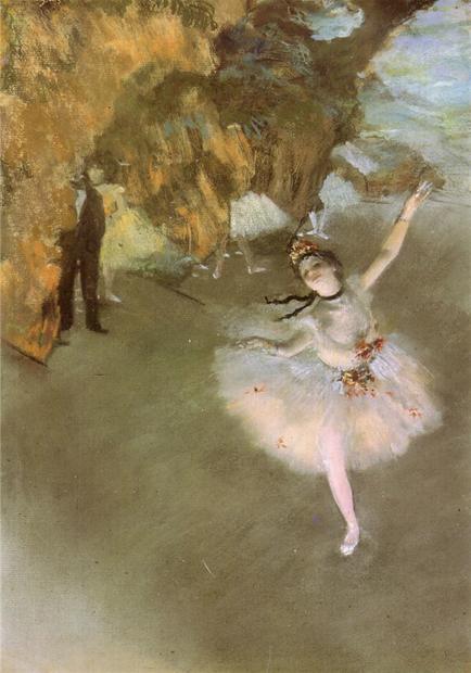 '드가: 새로운 시각' 展에 전시되는 에드가 드가의 'Ballet'(1876)./사진제공=세종문화회관