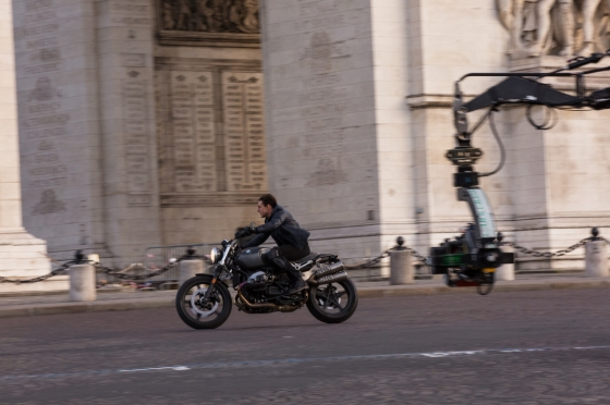 '미션임파서블-폴아웃'에 등장한 BMW R nineT 스크램블러/사진제공=BMW