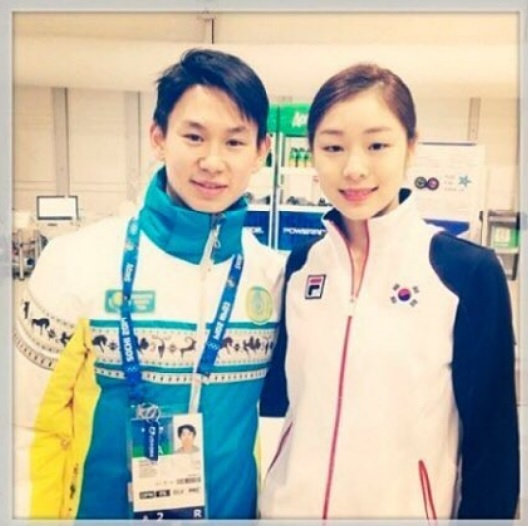 테니스텐, 김연아(왼쪽부터) /사진=김연아 인스타그램
