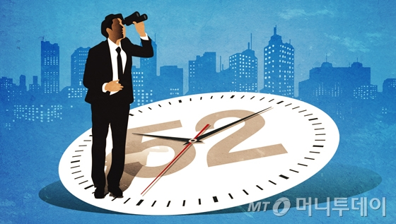300인 이상 사업장의 주 52시간 근로단축 제도가 8월 1일로 시행 한달 째를 맞는다. 문화예술계 종사자들은 제도 시행과 관련, 낙관과 비관이 교차했다. /삽화=임종철 디자인기자