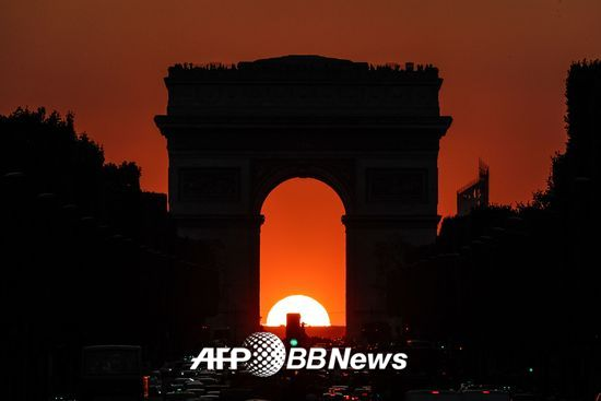 프랑스 파리 개선문. /AFPBBNews=뉴스1