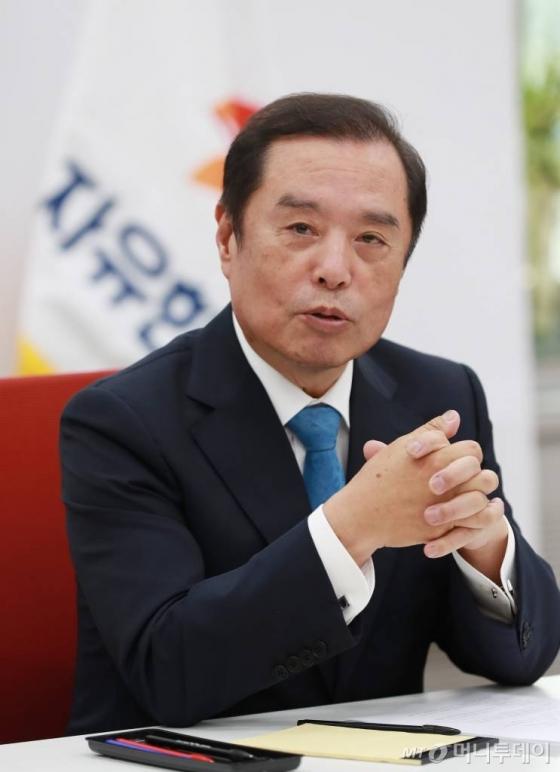 김병준 자유한국당 비대위원장/사진=이동훈 기자