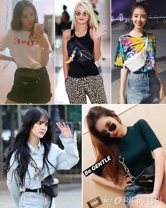 가수 선미, 효린, 모델 아이린, AOA 지민 /사진=선미, 아이린 인스타그램, 머니투데이 DB
