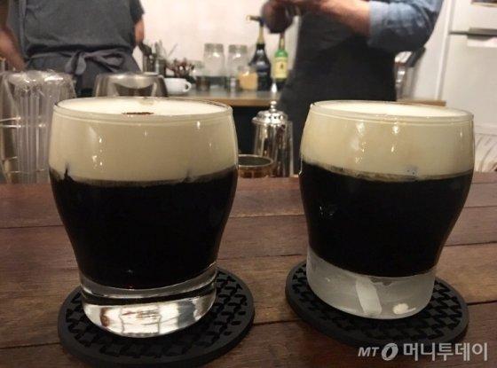 서울 망원동 한 카페서 1년 전 여름, 마지막으로 마신 아인슈페너(아메리카노에 설탕과 생크림을 얹어 만든 커피). 진한 커피에 달달한 크림이 일품이다./사진=남형도 기자
