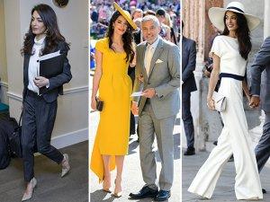 세상에서 가장 핫한 변호사, '아말 클루니' 패션 분석