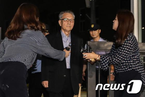 김기춘 전 비서실장 © News1