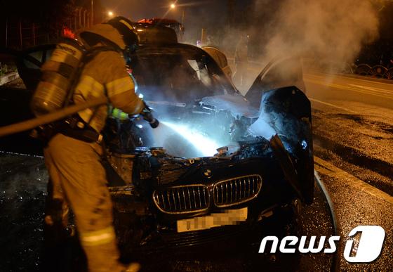 [사진]'BMW 또 불났다'