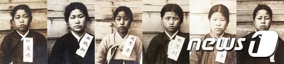 [사진]3·1운동 재현 배화여학교 6인, 독립운동 인정 받다