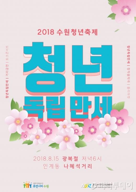 수원시, 2018 수원청년축제 '청년독립만세' 개최