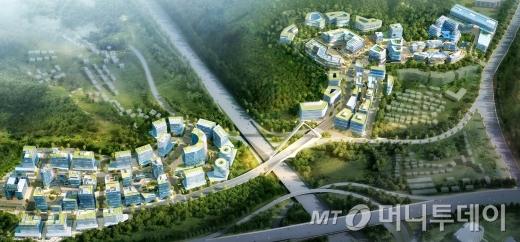 경기도시공사, 판교제2테크노밸리 잔여 산업시설용지 공급