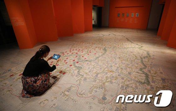 [사진]증강현실을 활용한 '동국대지도' 체험