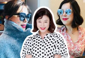 '최강 동안' 최화정, 젊어보이는 스타일…비결은?