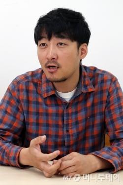 색소포니스트 신현필. /사진=이기범 기자<br />