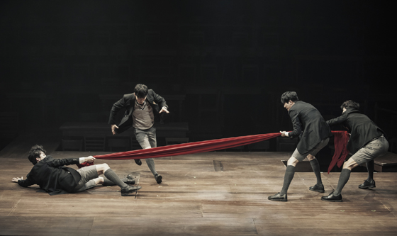 연극 '알앤제이' 공연 모습./사진제공=쇼노트