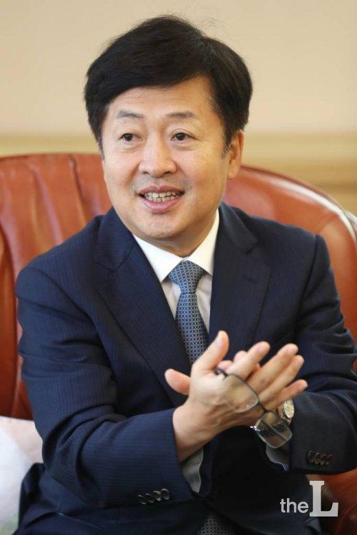 성백현 서울가정법원장 / 사진=이기범 기자