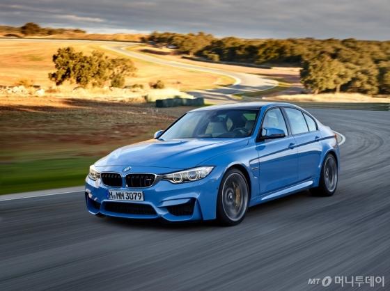 BMW '뉴 M3' 세단/사진=BMW 코리아