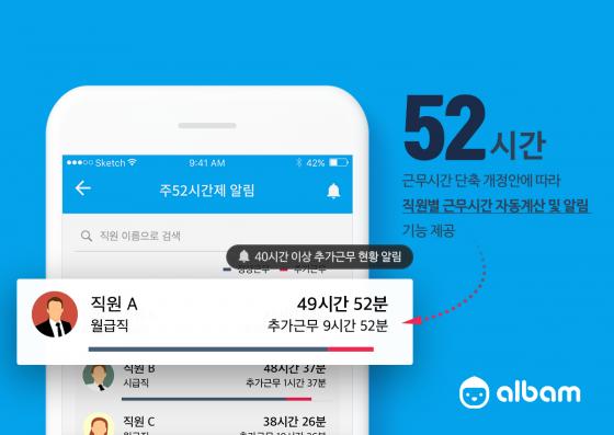 알밤 서비스/사진제공=푸른밤